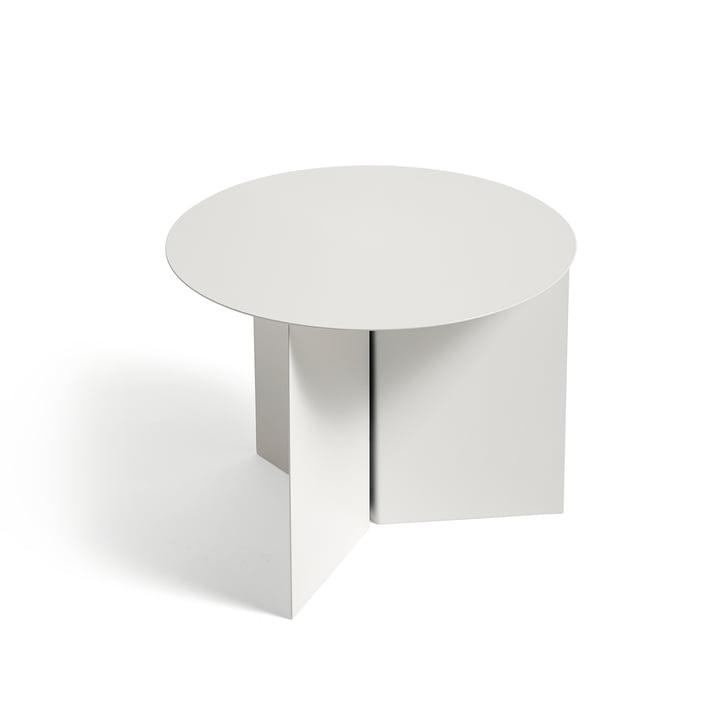 Slit Table Round de Hay en blanc