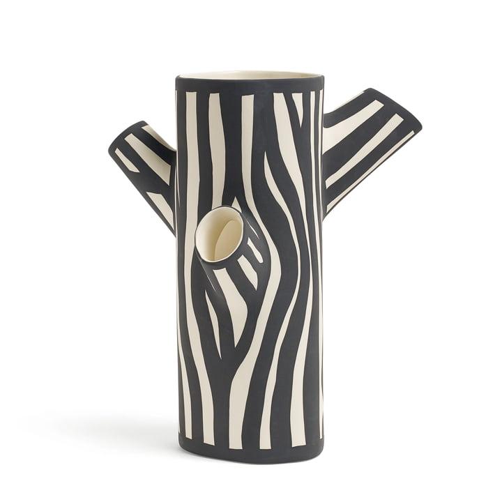 Hay - Tree Trunk Vase medium en blanc