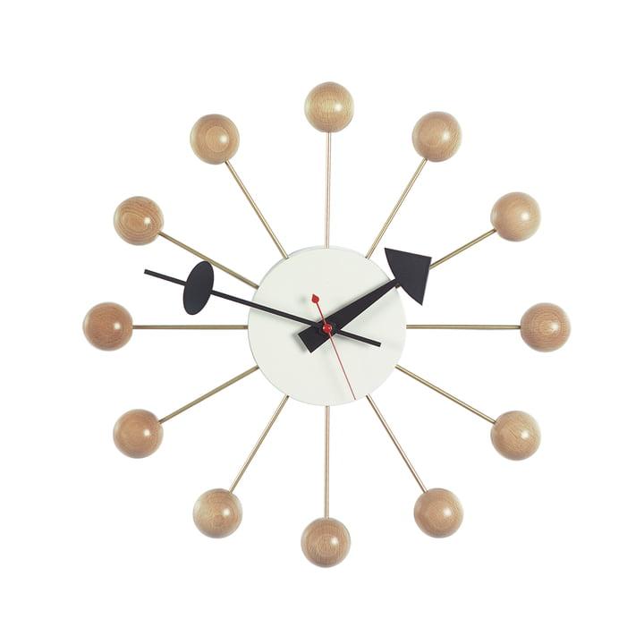 Vitra - Ball Clock, naturel