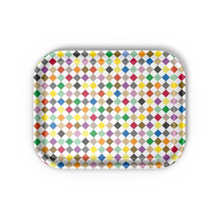 Vitra - Classic Tray medium, Diamonds multicolore