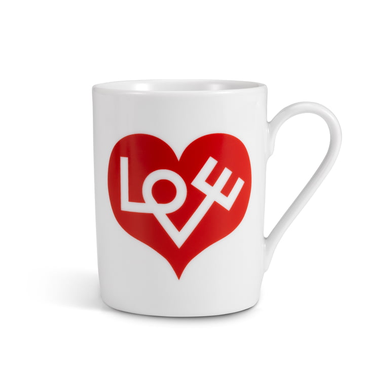 Vitra - Coffe Mug, Love Heart red