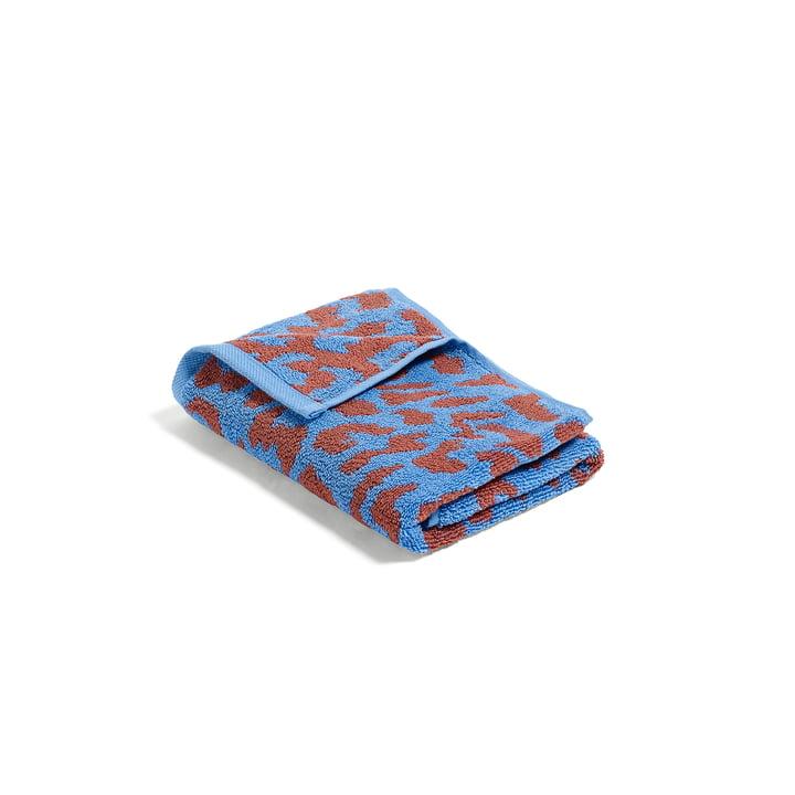 Hay - He She It Towels, en bleu ciel et cannelle