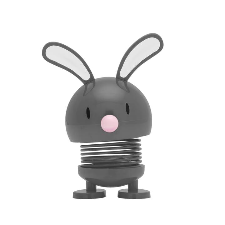 Hoptimist - Bunny Baby Bimble, gris foncé