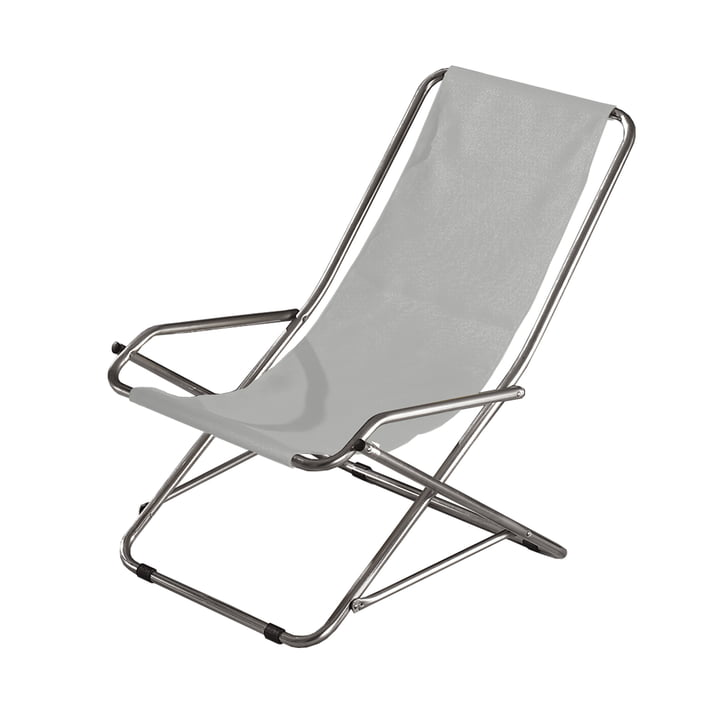 Fiam - Chaise longue Dondolina, gris