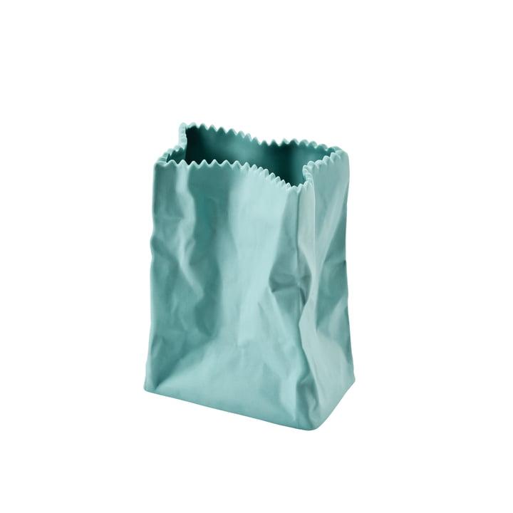 Rosenthal - Vase sac en papier, 10cm, vert menthe