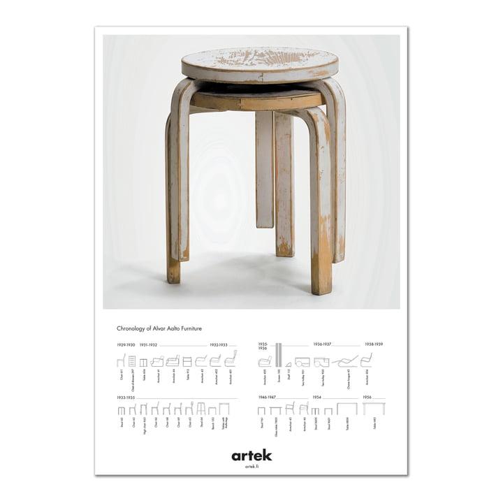 Artek - Poster 2nd Cycle Stool 60