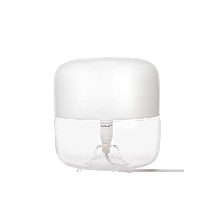 Marimekko - Lampe de table Valoisa Small, blanc/transparent