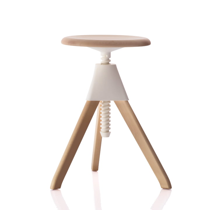 Magis - Tabouret Jerry The Wild Bunch (50-60 cm), blanc