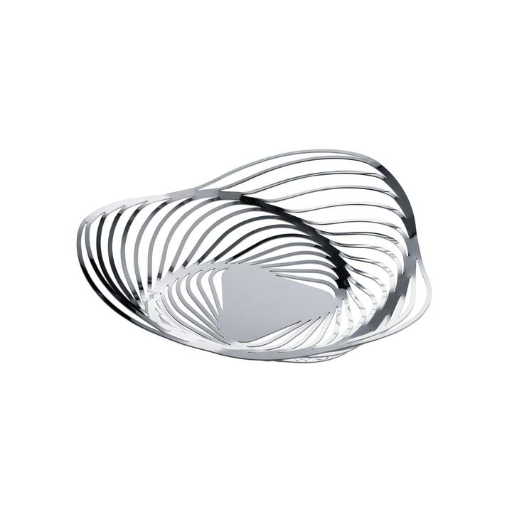 Alessi - Corbeille Trinity, Ø 26 cm, acier inoxydable