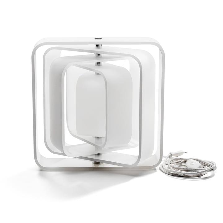 BeDesign - Lampe QBE-Light, blanc mat