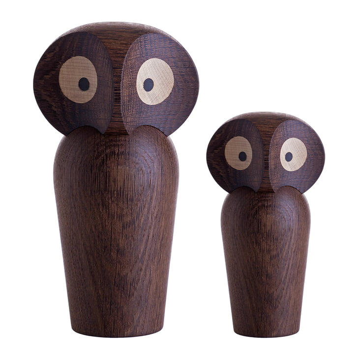 ArchitectMade - Chouette Owl Small/Large, chêne fumé