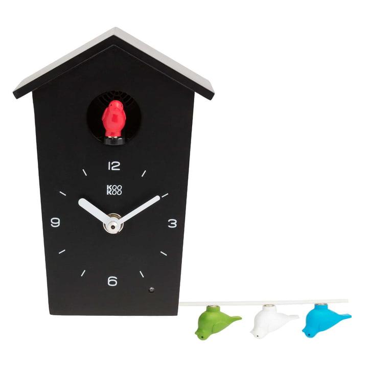 KooKoo - Bird House Mini, noir