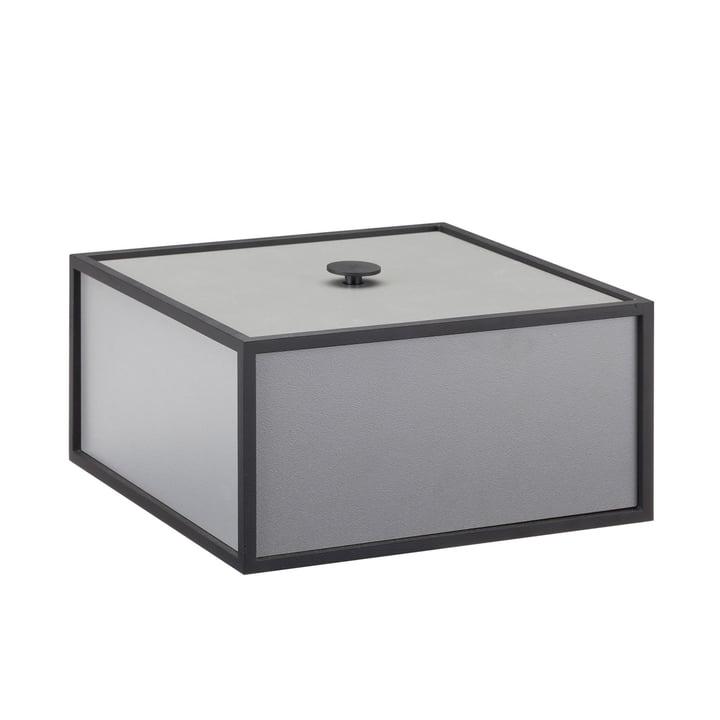 Cadre Box by by Lassen en gris foncé