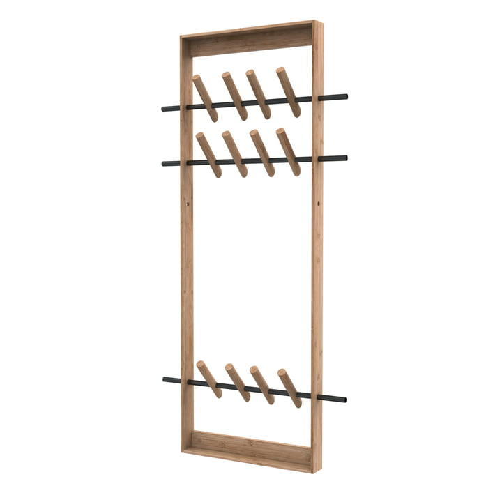 Coat Frame de We Do Wood dans Bambou nature / Acier
