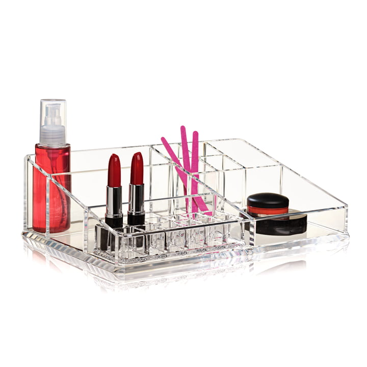Nomess - Boîte de rangement Clear Make-Up XL