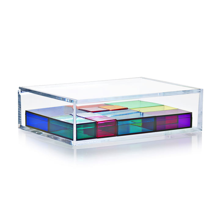 Nomess - Boîte à bijoux, multicolore