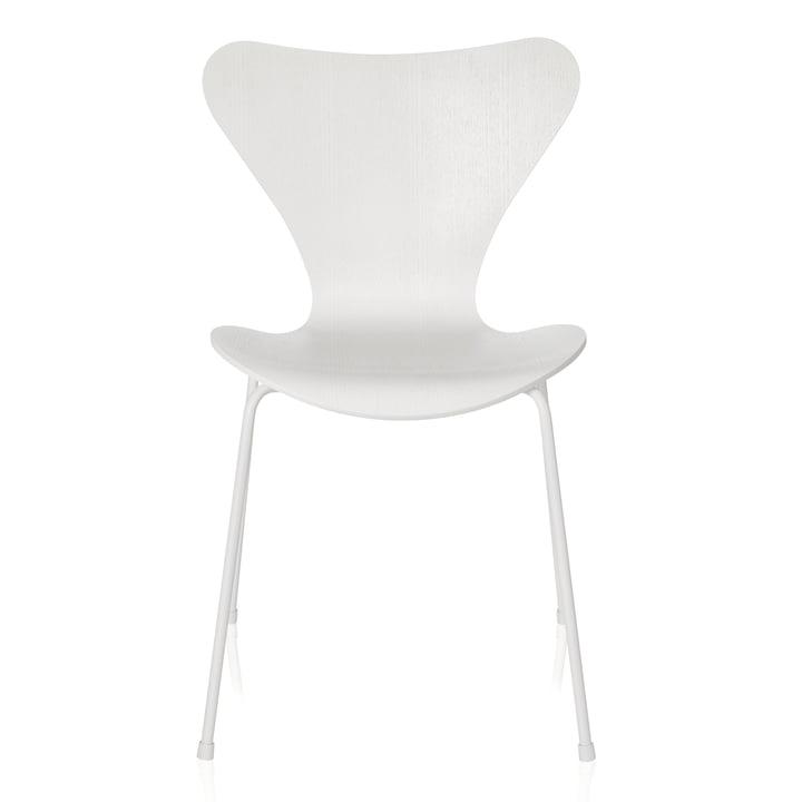 Fritz Hansen - Chaise Série 7, Monochrome blanc, 46,5cm