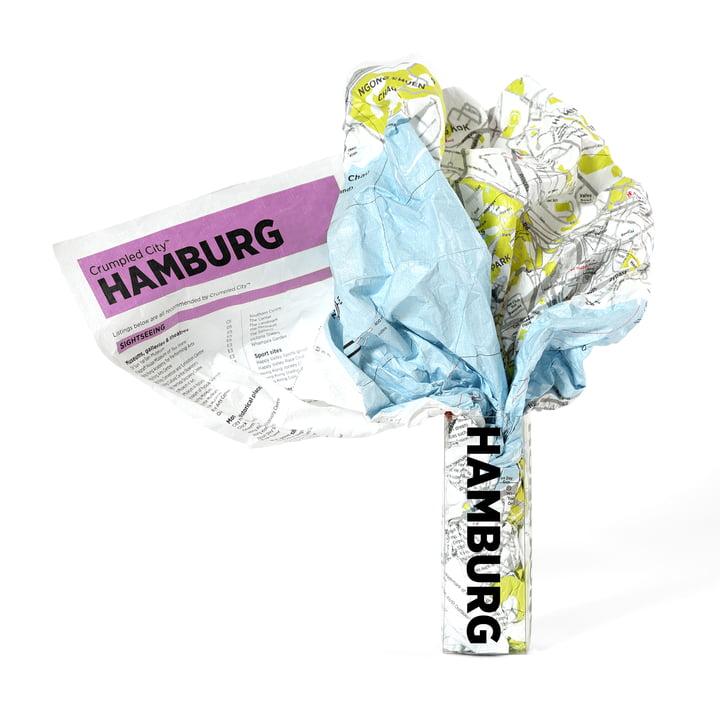 Palomar - Crumpled City Map - Hambourg