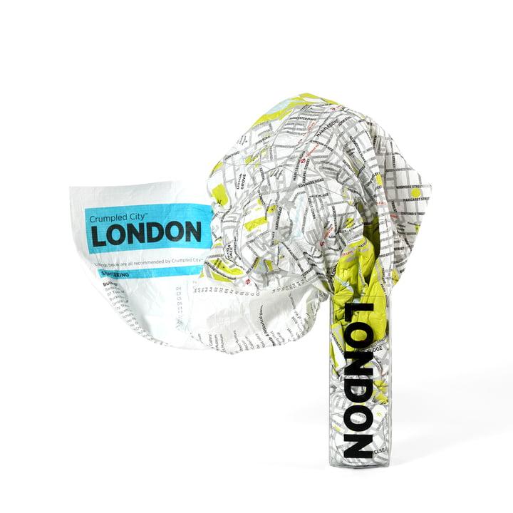 Palomar - Crumpled City Map - Londres