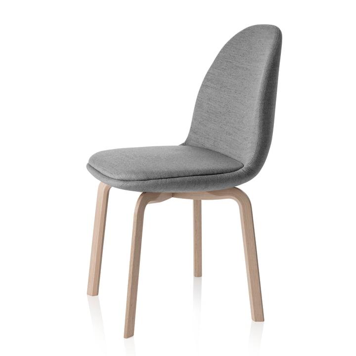 Fritz Hansen - Chaise Sammen 45,5cm, gris
