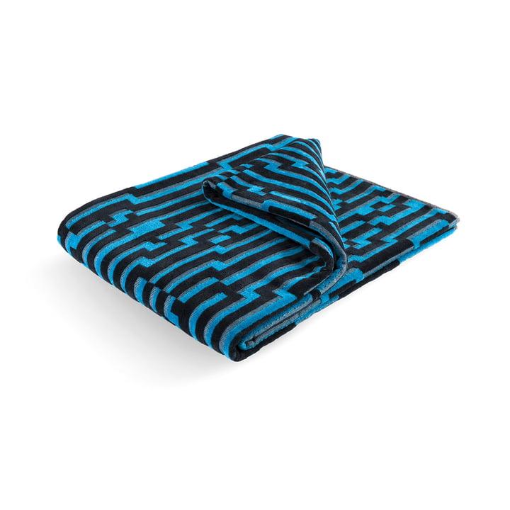 Serviette de plage Mini Blue Waves 100 × 180cm de Zuzunaga