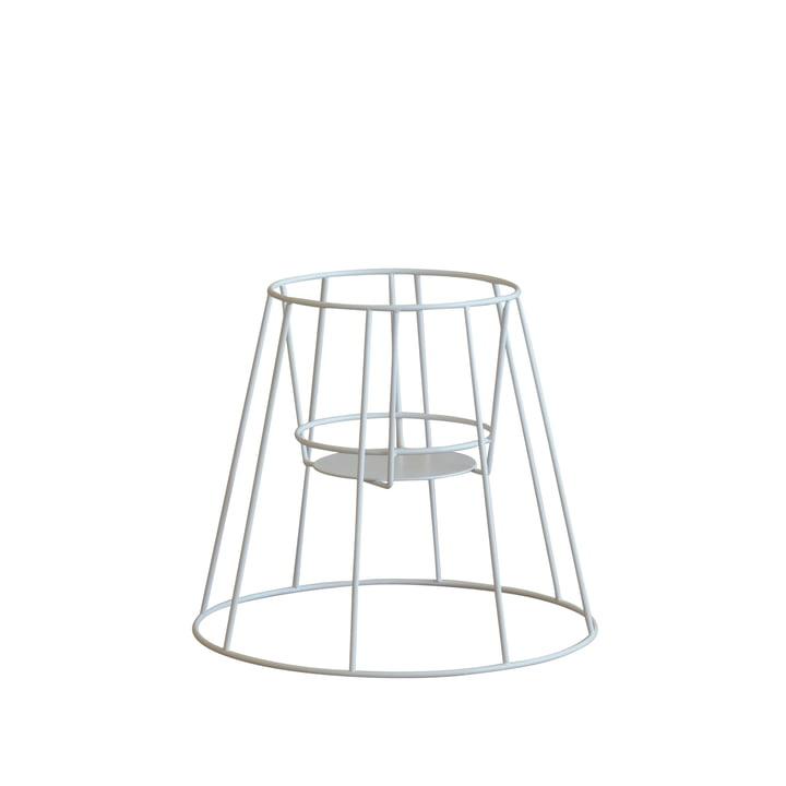 OK Design - Support pour pot de fleur Cibele, petit format, blanc