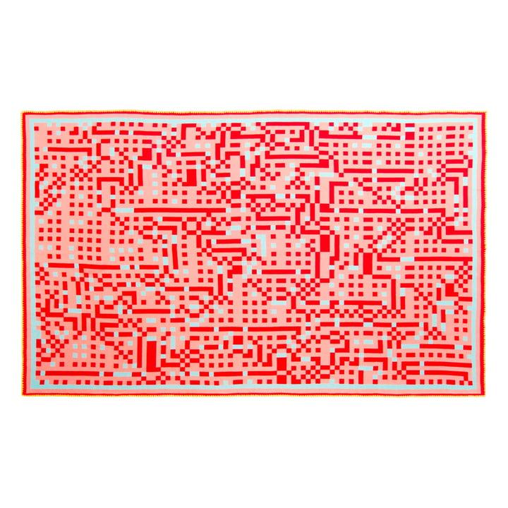 Zuzunaga - Couverture en laine Tokyo1, 146x212cm