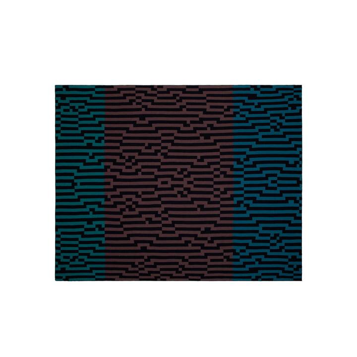 Zuzunaga - Couverture en laine Zoom Out 1, 140 × 180 cm