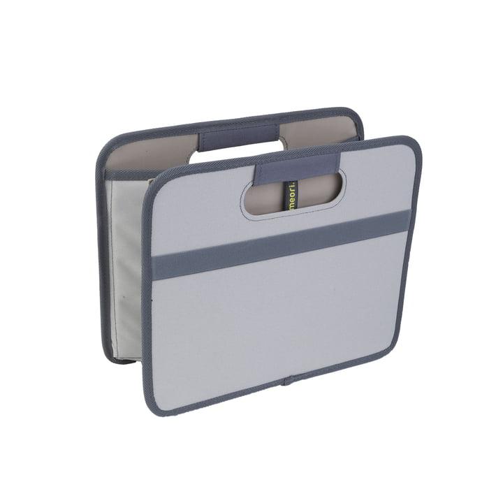 meori - Boîte pliante classique 15litres, gris pierre uni