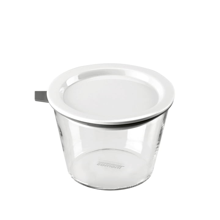 Thomas - Bocal Food Container, 500 ml, anneau en silicone gris
