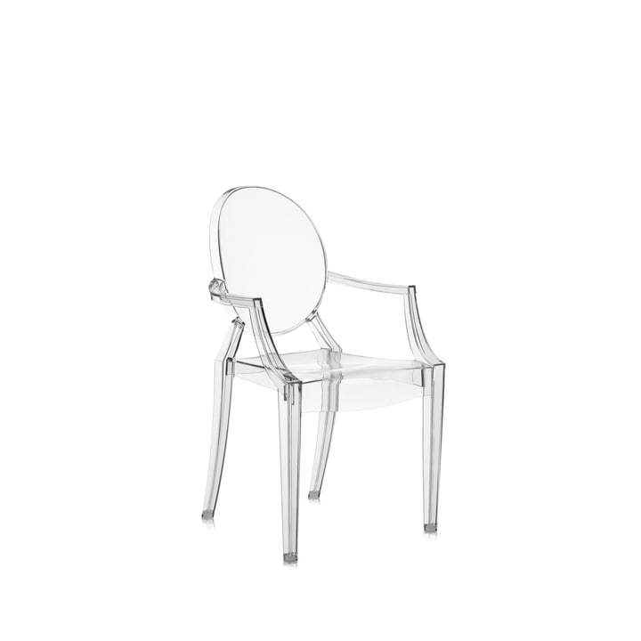 Kartell - Chaise Lou Lou Ghost, transparent
