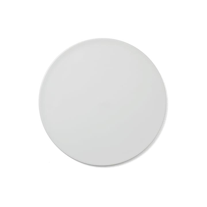 Menu - Assiette/couvercle New Norm Ø 21,5cm en blanc