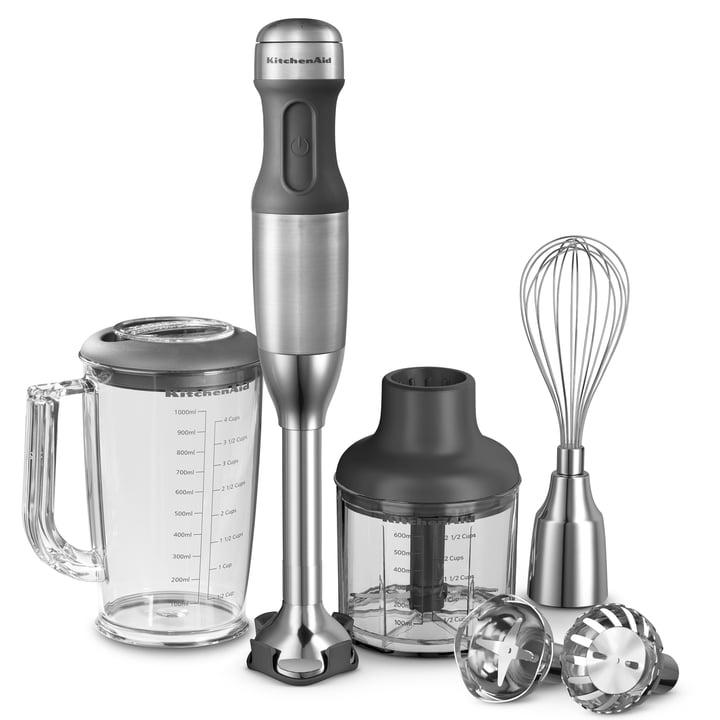 KitchenAid - Mixeur plongeant à 5vitesses, acier inoxydable