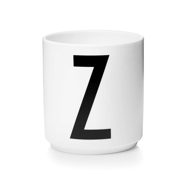 Design Letters - Tasse en porcelaine AJ - Z