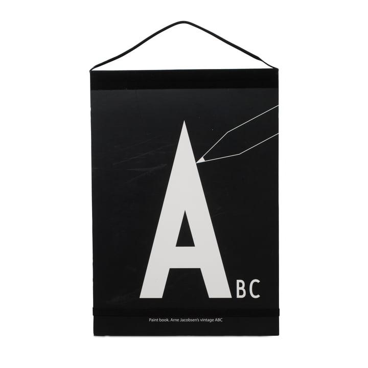 Design Letters - AJ album de coloriage