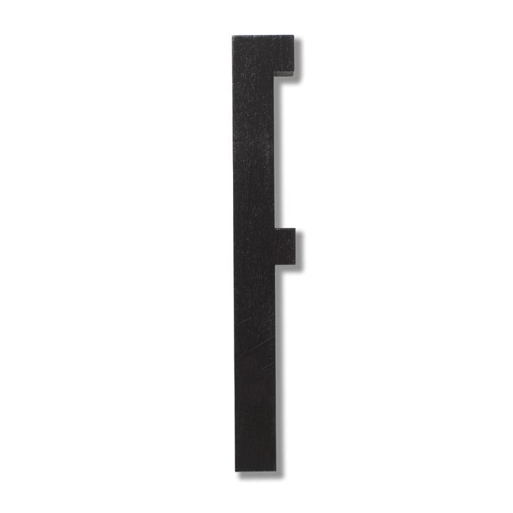 Wooden Letters Indoor F de Design Letters en noir