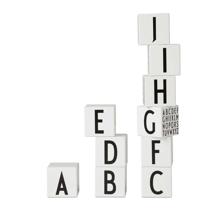 Design Letters - AJ Wooden Letter Cubes - Kids Classic