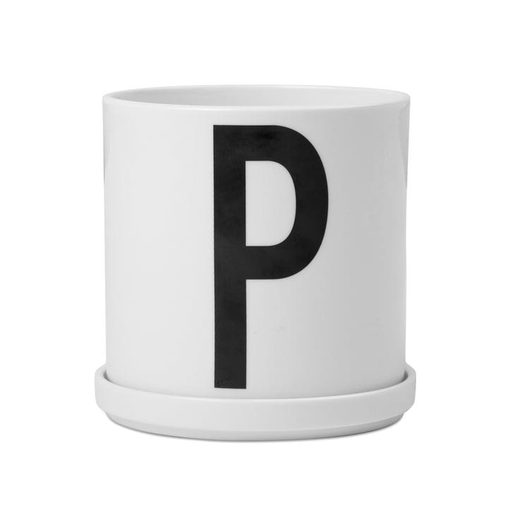 Design Letters - Pot de fleur en porcelaine AJ