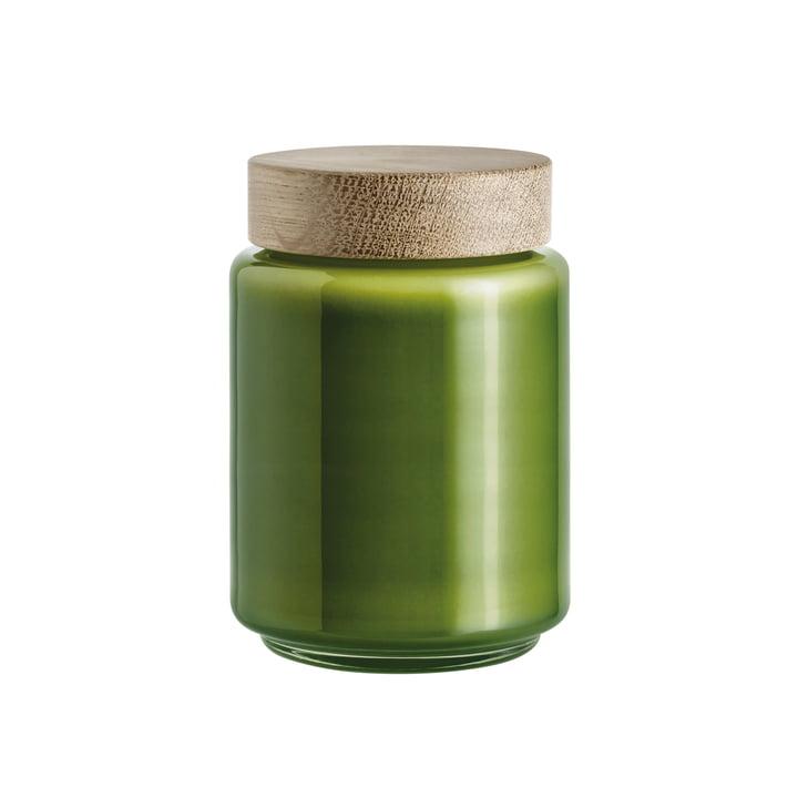 Holmegaard - Bocal avec couvercle Palet en vert - 0,7 l