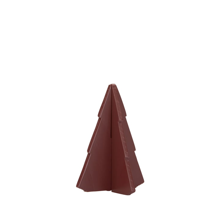 Skagerak - Spruce Tree sapin 9 cm, oxide red