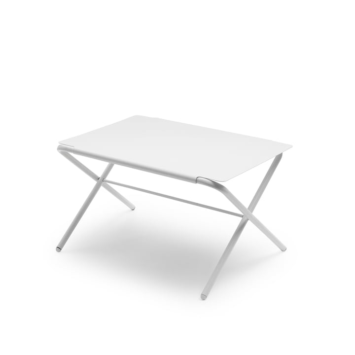 Skagerak - Petite table d'appoint Bow, silver white