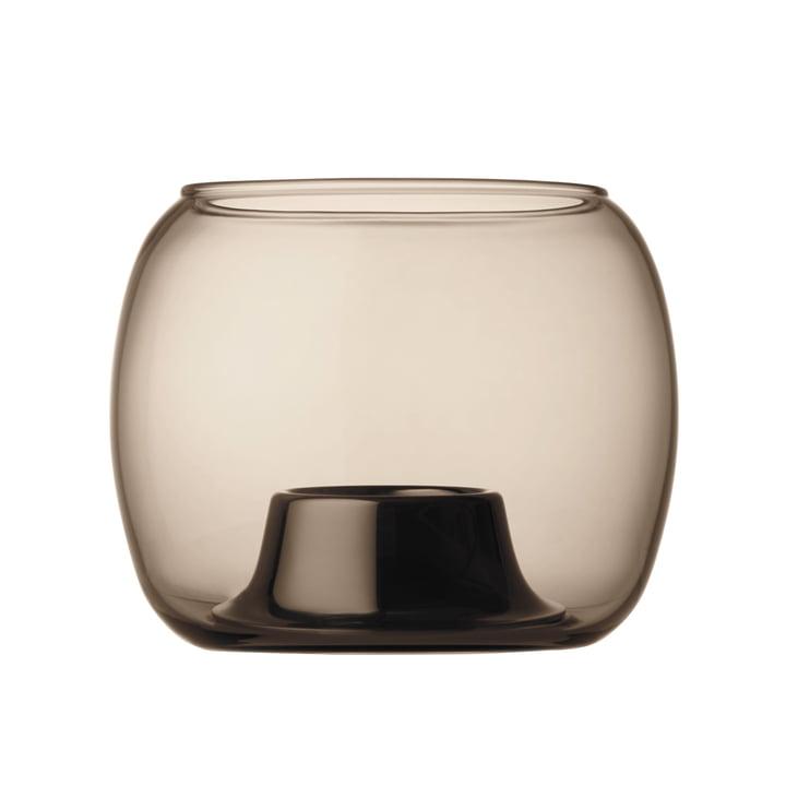Iittala - Kaasa support pour bougies à chauffe-plat 141 x 115 mm, sable