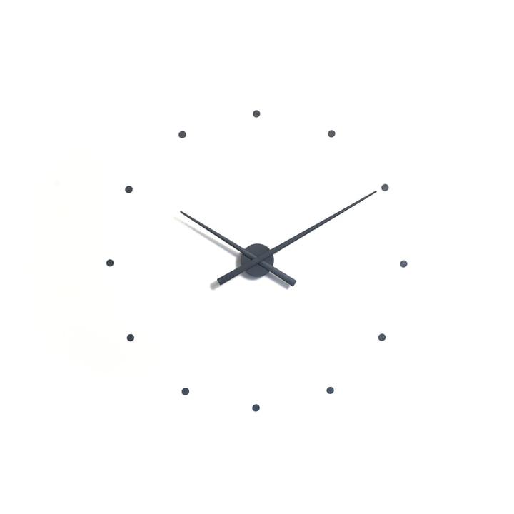 Horloge murale OJ de nomon en gris