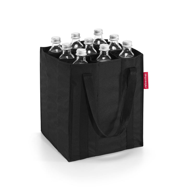 reisenthel - sac de bouteille en noir
