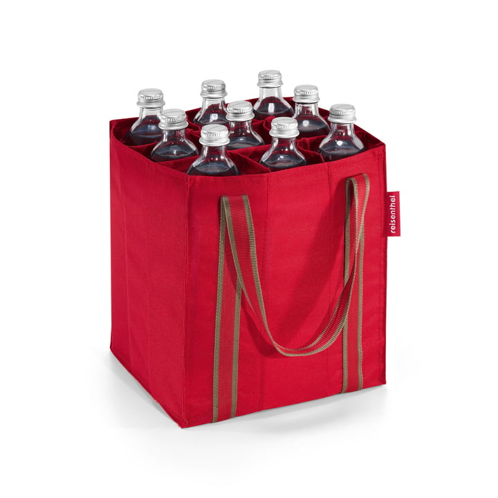 reisenthel - bottlebag en rouge