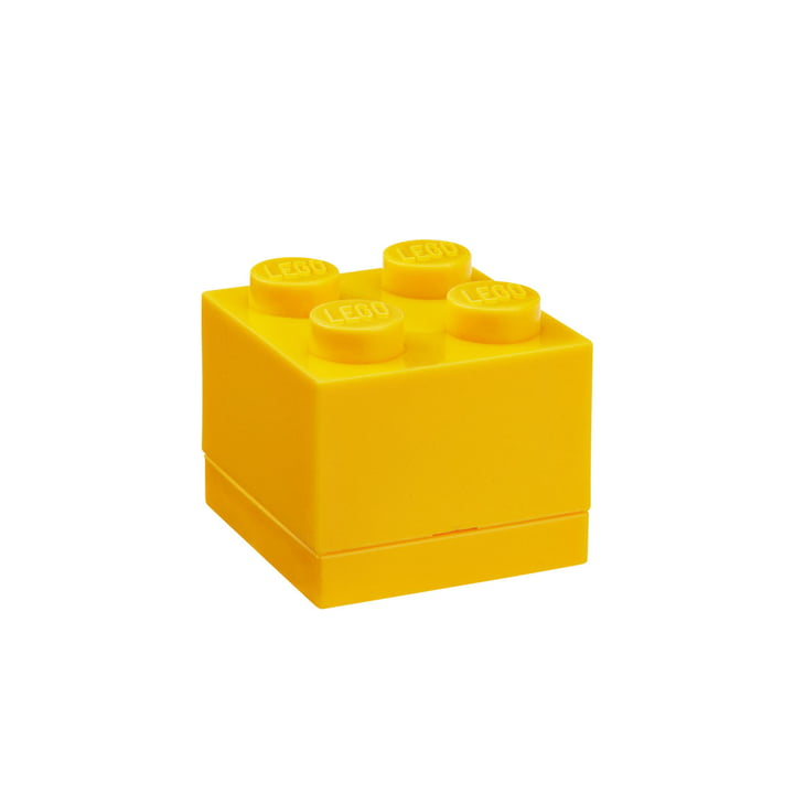 Lego - Mini-Box 4, jaune