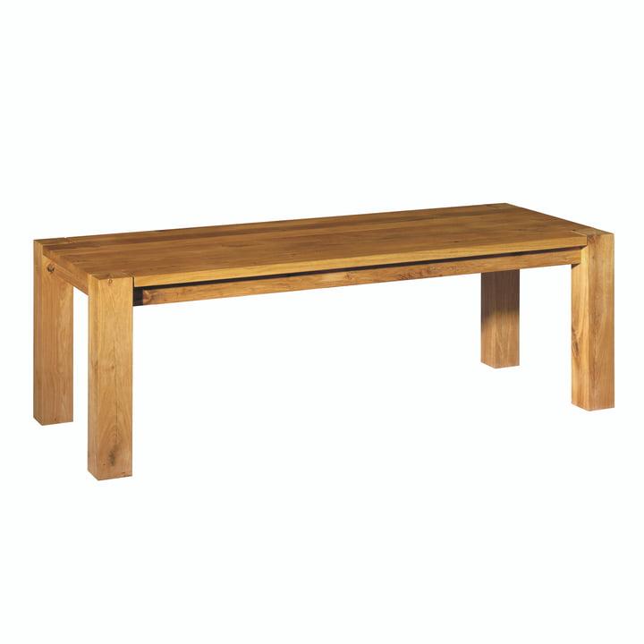 e15 - Table TA04 Bigfoot , 230x92cm en chêne huilé