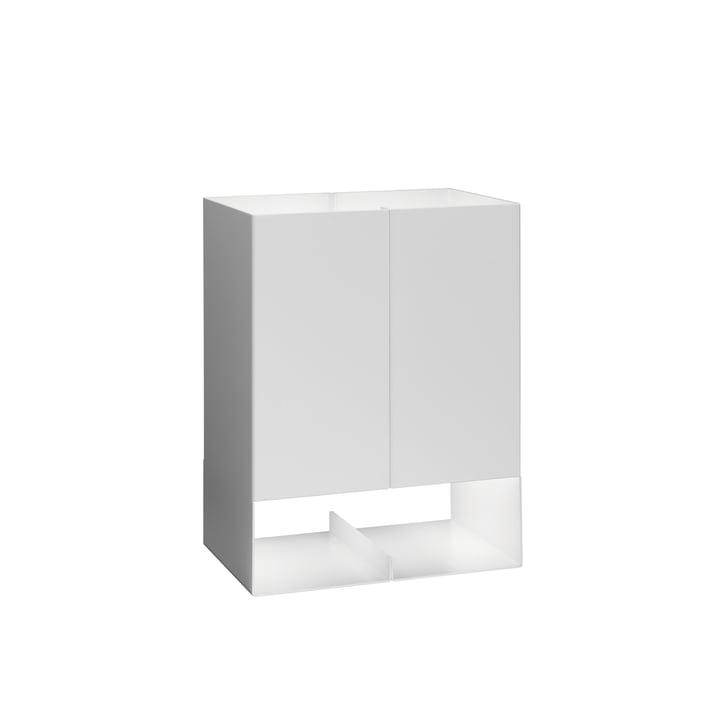 e15 - Lampe LT02 Seam Two, petit en blanc de signalisation
