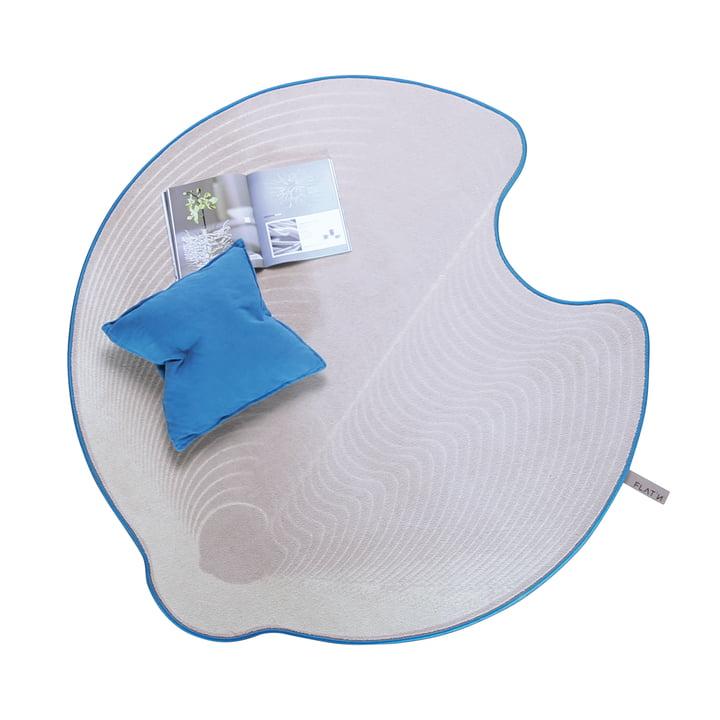 Flat'n - Tapis Grooved Circle 001 (D 160cm)