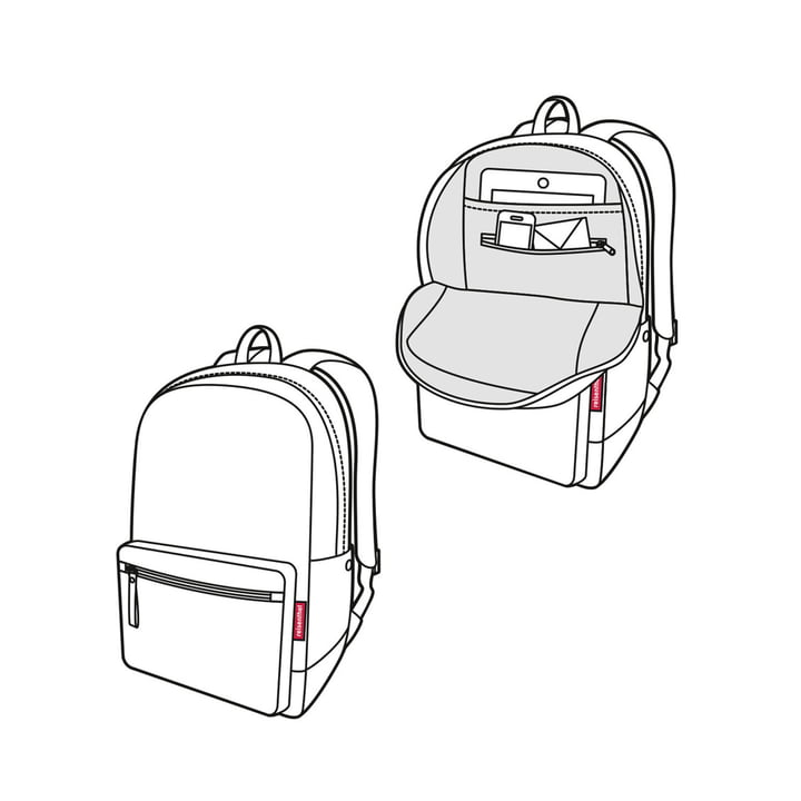 Sac à dos rucksack2 de reisenthel